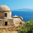 Old byzantine church of Monemvasia town ,Greece — Stock Photo