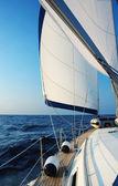 Plavba s větrem — Stock fotografie