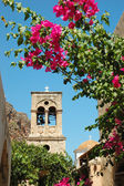 Old byzantine church of Elkomenos Christos,Monemvasia,Greece — Stock Photo