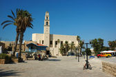 Famous St. Peter's Church in old Jaffa,Israel — Stock Photo