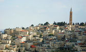 View of holy city Jerusalem , Israel — Stockfoto
