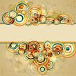 retro abstrakt, Vektor-illustration — Stockvektor