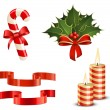 Royalty-Free Stock Imagen vectorial: Christmas icon set