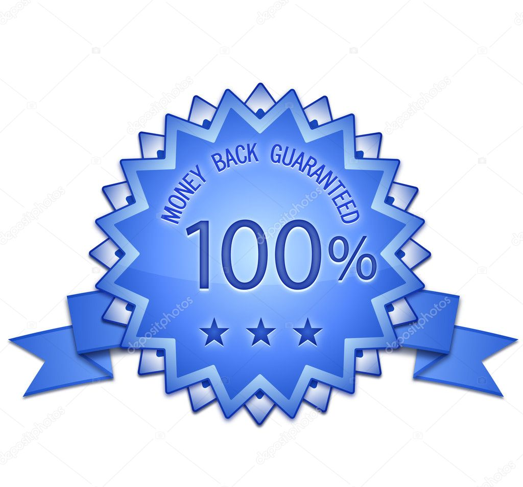 100 % Satisfaction Guaranteed Signs. Risk Free Sign. Vector illustration  Stock Photo #7490230