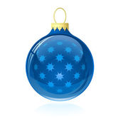 рождественский шар — Cтоковый вектор