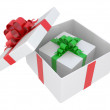 White gift box — Stock Photo #7142819