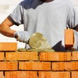 bricklayer — Stock Photo