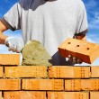 Bricklayer — Stock Photo #7301393
