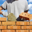 Bricklayer — Stock Photo #7906923