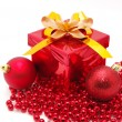 Christmas gift box - Foto de Stock