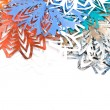 Stock Photo: Paper snowflakes