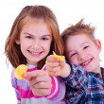 Two kids — Stock Photo #7583232