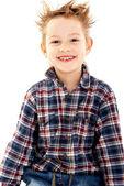 Photo of adorable young boy — Stock Photo