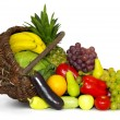 Composition with variety of fruits — Stock Photo #7399336