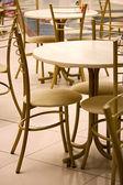 Café-tische — Stockfoto