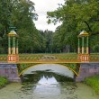 Stock Photo: Bridge in Tsarskoye Selo