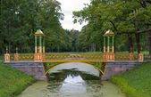 Bridge in Tsarskoye Selo — Stock Photo