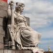 Statue of Neva - Stock Photo