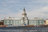 The Kunstkamera museum, Saint-Petersburg, Russia — Stock Photo