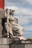 Statue of Neva — Stock Photo