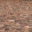 Ancient paving stone - Stock Photo