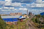 Industrial landscape — Stock Photo