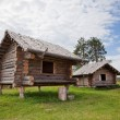 Royalty-Free Stock Photo: Ancient traditional russian wooden house X century