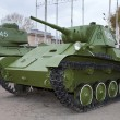 Old soviet light tank T-70 — Stock Photo #7635910