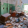 Grunge abandoned office - Stock Photo