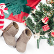 Christmas items — Foto de Stock