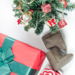 Christmas items — Stockfoto