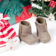 christmas items — Stock Photo
