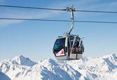 Lyžařské středisko solden. Rakousko — Stock fotografie
