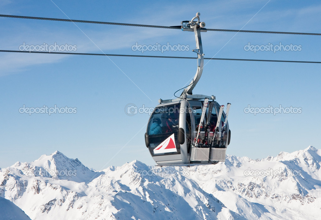 Ski resort  Solden. Austria  Stock Photo #6818053
