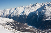 Ski resort Solden. Austria — Stock Photo