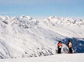 Ski resort Hohrgurgl. Austria — Stok fotoğraf