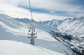 Ski resort Hohrgurgl. Austria — Stock Photo