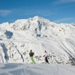 Ski resort Hohrgurgl. Austria — Stock Photo