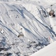 Stock Photo: Ski resort Obergurgl. Austria