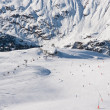 Ski resort Obergurgl. Austria — Stock Photo