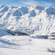 Ski resort Obergurgl. Austria — Stock Photo #7857371
