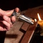 Cigar-lighter — Stock Photo