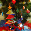 Christmas tree ornaments — Stock Photo #7295014