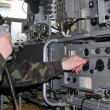 Military radio - Stock Photo