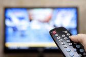 电视遥控器 — 图库照片
