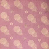 Vintage pattern with snowflake — Stock Photo