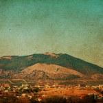 schönes Bild der Berge — Stockfoto