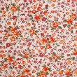 Glamour fabric with flowers — Stock Photo