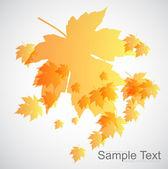 Piękne tło jesień — Wektor stockowy