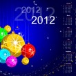 Abstract background for new year and for Christmas colorful desi — Stock Vector
